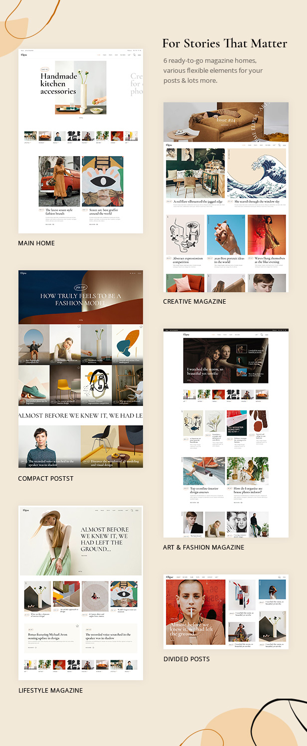 Elipsa - Creative Magazine Theme - 1